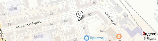 BACKSTAGE STUDIO на карте Нижнего Тагила