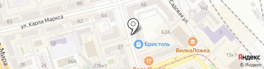 Грузчиков-Сервис Нижний Тагил на карте Нижнего Тагила