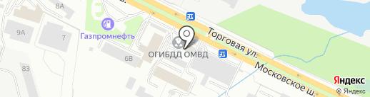 Регистрационно-экзаменационный отдел ГИБДД на карте Первоуральска