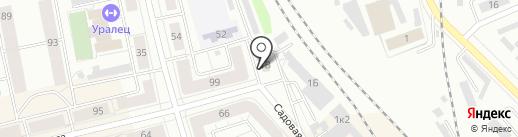 Магазин строительных материалов на карте Нижнего Тагила