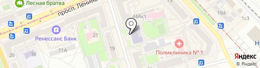 Проект-НТ на карте Нижнего Тагила