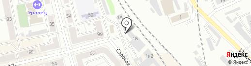 Тагил Электрик на карте Нижнего Тагила