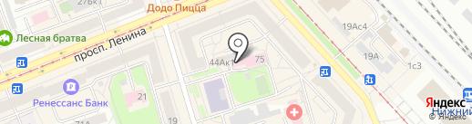 Центр медицинских осмотров на карте Нижнего Тагила