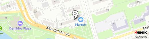 Россвик-Урал на карте Нижнего Тагила