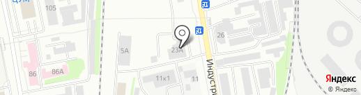 Компания услуг автоэлектрика на карте Нижнего Тагила