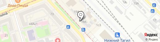 Эконом+ на карте Нижнего Тагила