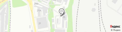 Центр вентиляции на карте Нижнего Тагила