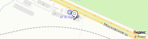 Автомойка самообслуживания на карте Первоуральска