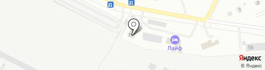 Баня №4 на карте Первоуральска