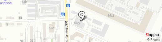 Зеленстрой-сервис на карте Нижнего Тагила