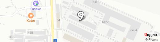 Уралдеталь-НТ на карте Нижнего Тагила