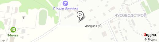 У горы Волчиха на карте Ревды