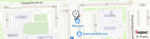 VIP мастер-НТ на карте Нижнего Тагила