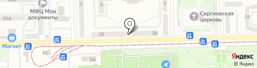 Астрамед-МС на карте Нижнего Тагила