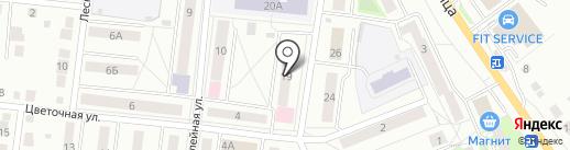 Отделение общей врачебной практики на карте Первоуральска