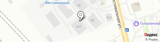Делур на карте Нижнего Тагила