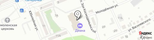 Diana на карте Первоуральска