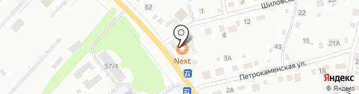 Продовольственный магазин на карте Нижнего Тагила