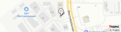 VINCHI на карте Нижнего Тагила
