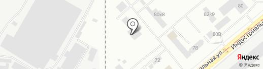 Пожарная часть №36 на карте Нижнего Тагила
