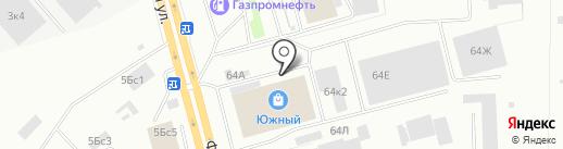 В Таксопарке на карте Нижнего Тагила