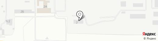 Коксохимремонт-2 на карте Нижнего Тагила