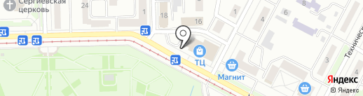 Банкомат, Уральский транспортный банк, ПАО на карте Нижнего Тагила