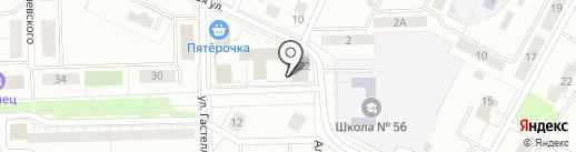Управление Федеральной службы судебных приставов по Свердловской области на карте Нижнего Тагила