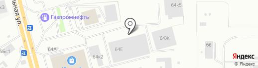 Автокит на карте Нижнего Тагила