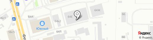 IP-Tec на карте Нижнего Тагила