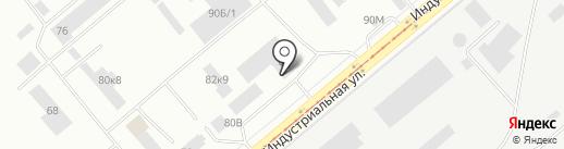 Автошкола Люкс на карте Нижнего Тагила