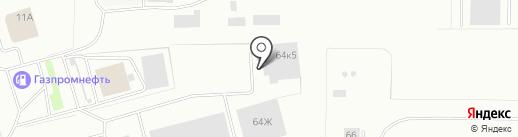 Тимофеев на карте Нижнего Тагила