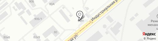 Lейка на карте Нижнего Тагила