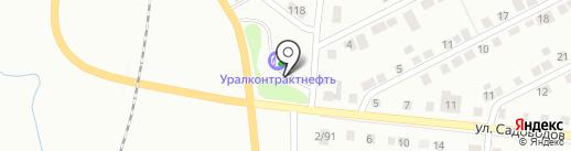 Центр автоуслуг на карте Нижнего Тагила