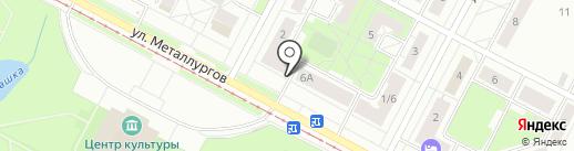 Нотариус Ведерникова Г.Н. на карте Нижнего Тагила