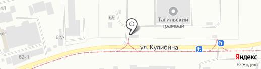 Горэлектротранс на карте Нижнего Тагила