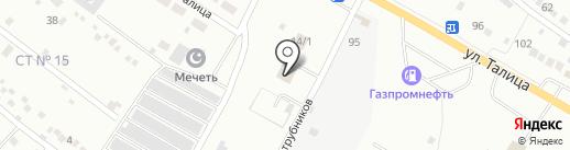 Автоцентр на карте Первоуральска