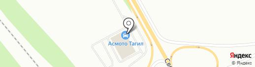 АСМОТО Тагил на карте Нижнего Тагила