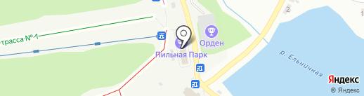 Орден на карте Первоуральска