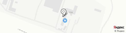 Производственная фирма на карте Нижнего Тагила