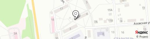 Салон дверей на карте Нижнего Тагила