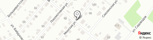 Автосервис на карте Нижнего Тагила