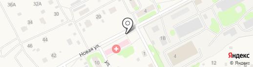 Горноуральская районная больница на карте Николо-Павловского