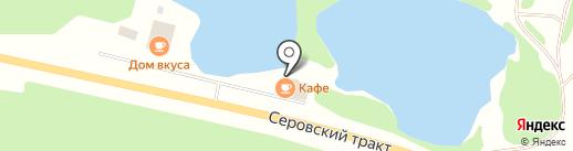 Набережная на карте Нижнего Тагила