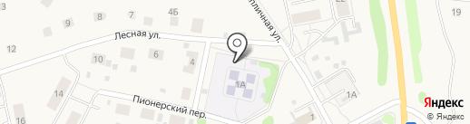 Детский сад №20 на карте Николо-Павловского