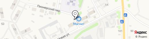 Таганка на карте Николо-Павловского