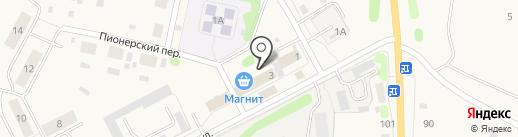 Незабудка на карте Николо-Павловского