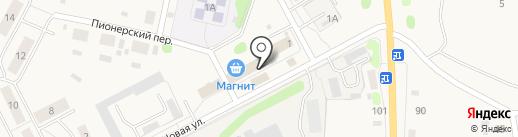 Магазин хозяйственных товаров на карте Николо-Павловского
