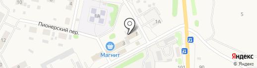 Радуга, продуктовый магазин на карте Николо-Павловского