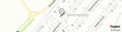 Валёгин Бор на карте Нижнего Тагила
